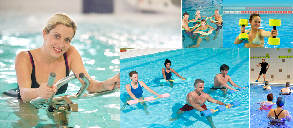 Aquagym-Aquabiking-Aquaboxing-Aquafitness-Aquagym adaptée